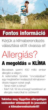 Allergológus klíma szakvéleménye