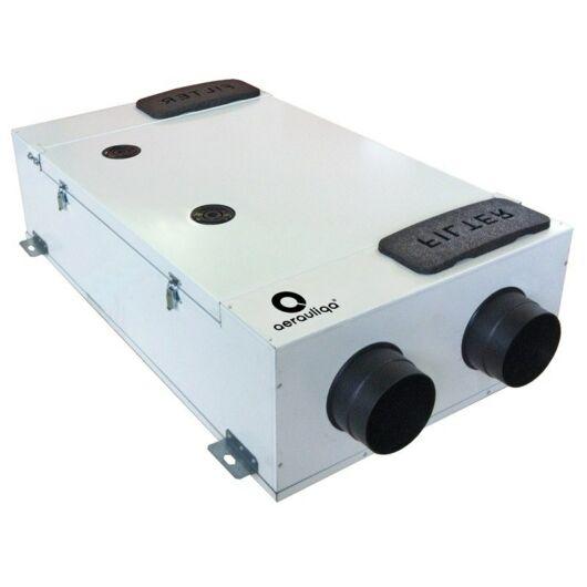 Aerauliqa QR230E központi hővisszanyerős szellőztető entalpia hőcserélővel