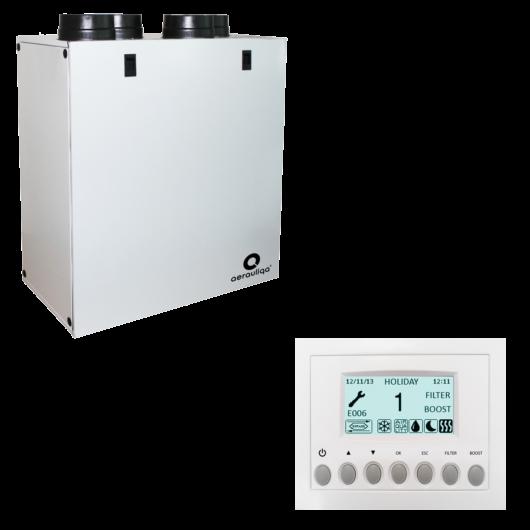 Aerauliqa QR280 A központi hővisszanyerős szellőztető