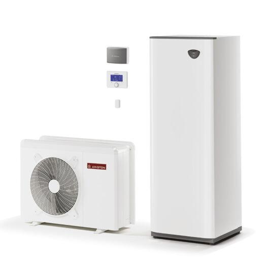 Ariston Nimbus Compact 50 S NET 1 fázisú osztott levegő-víz hőszivattyú HMV tartállyal 7.1 kW