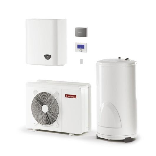 Ariston Nimbus Flex 70 S NET 1 fázisú osztott levegő-víz hőszivattyú HMV tartállyal 11 kW