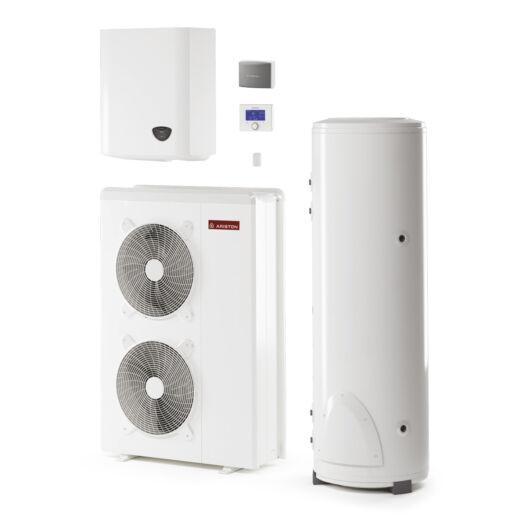 Ariston Nimbus Flex 90 S T NET-300 3 fázisú osztott levegő-víz hőszivattyú HMV tartállyal 14 kW