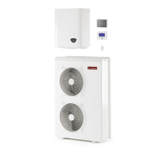 Ariston Nimbus Plus 110 S T NET 3 fázisú osztott levegő-víz hőszivattyú 16.7 kW