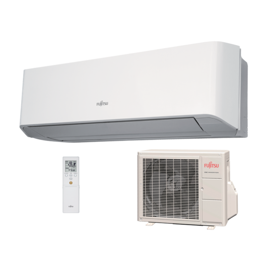 Fujitsu Compact ASYG07LMCE / AOYG07LMCE oldalfali mono split klíma 2 kW