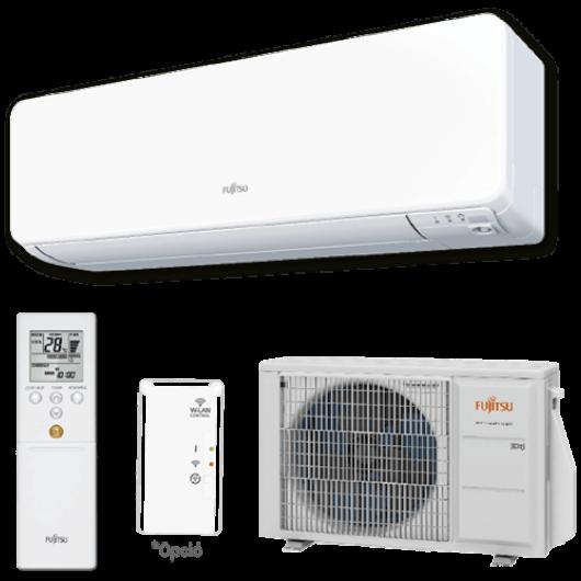 Fujitsu Design ASYG09KGTA / AOYG09KGCA oldalfali mono split klíma 2.5 kW