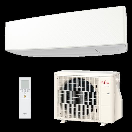 Fujitsu Design ASYG12KETA / AOYG12KETA oldalfali mono split klíma 3.4 kW