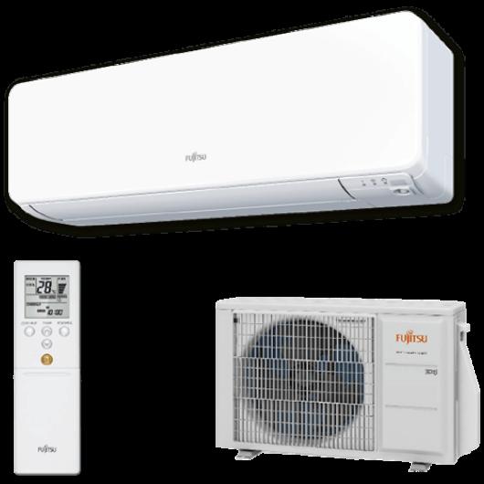 Fujitsu Design ASYG14KGTB / AOYG14KGCA oldalfali mono split klíma 4.2 kW