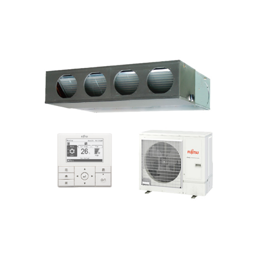 Fujitsu Eco ARXG36KMLA / AOYG36KQTA légcsatornás mono split klíma 9.5 kW