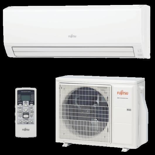 Fujitsu Eco ASYG24KLCA / AOYG24KLTA oldalfali mono split klíma 7.1 kW