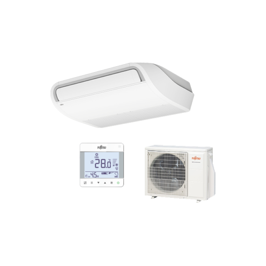 Fujitsu Standard ABYG22KRTA / AOYG22KBTB mennyezeti mono split klíma 6 kW
