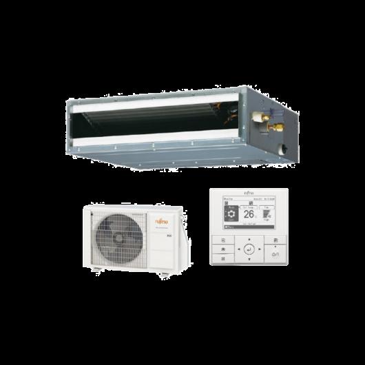 Fujitsu Standard ARXG09KLLAP / AOYG09KBTB légcsatornás mono split klíma 2.5 kW