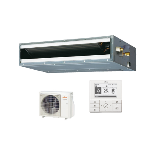 Fujitsu Standard ARXG18KLLAP / AOYG18KBTB légcsatornás mono split klíma 5.2 kW