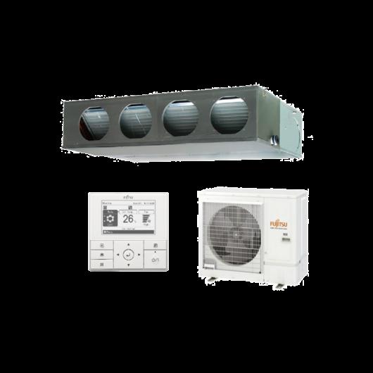 Fujitsu Standard ARXG30KMLA / AOYG30KBTB légcsatornás mono split klíma 8.5 kW