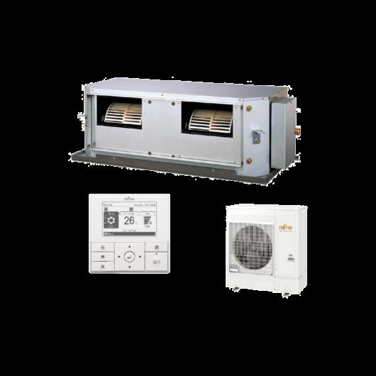 Fujitsu Standard ARXG45KHTA / AOYG45KBTB légcsatornás mono split klíma 12.1 kW