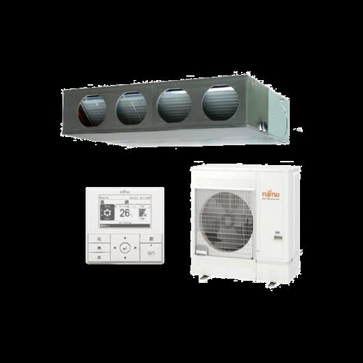 Fujitsu Standard ARXG45KMLA / AOYG45KRTA légcsatornás mono split klíma 12.1 kW