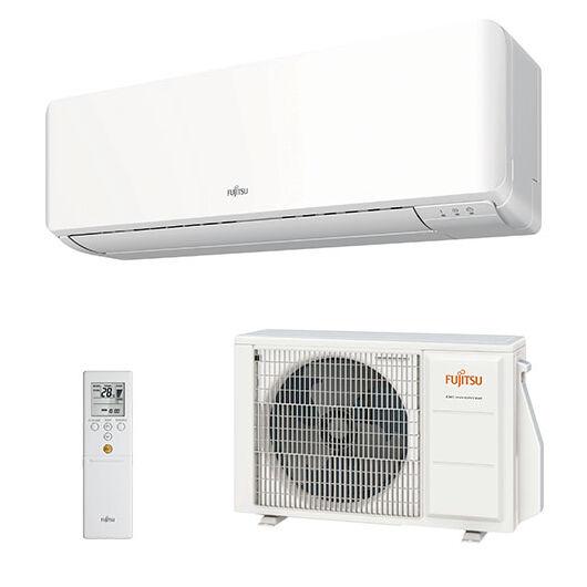 Fujitsu Standard ASYG09KMCC / AOYG09KMCC oldalfali mono split klíma 2.5 kW