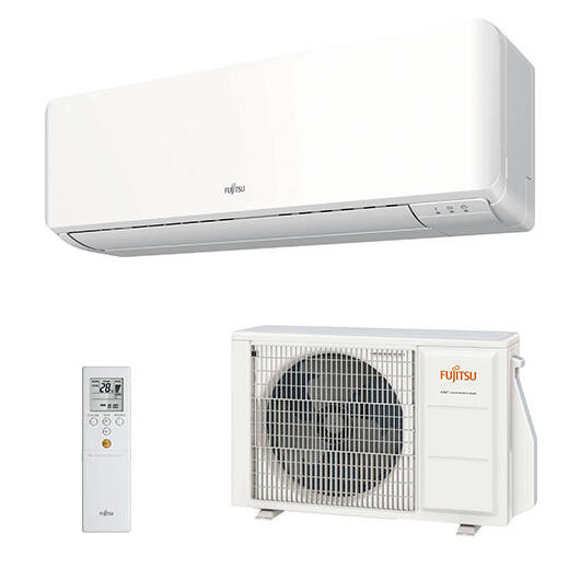 Fujitsu Standard ASYG12KMTB / AOYG12KMTA oldalfali mono split klíma 3.4 kW