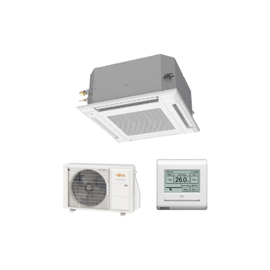 Fujitsu Standard AUXG12KVLA / AOYG12KBTB kazettás mono split klíma 3.5 kW