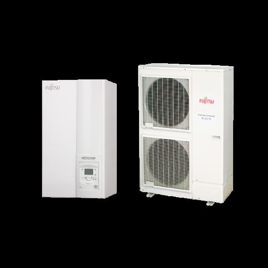 Fujitsu Waterstage HP 16 / 3F High Power V2 (WSYK160DG9 / WOYK160LCTA) 3 fázisú osztott levegő-víz hőszivattyú 15.2 kW