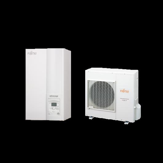 Fujitsu Waterstage S 10 Comfort V2 (WSYA100DG6 / WOYA100LFTA) 1 fázisú osztott levegő-víz hőszivattyú 10 kW