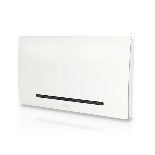 Galletti Art-U 20 fehér színű parapet / konzol fan coil nyitható ráccsal szabályzóhoz