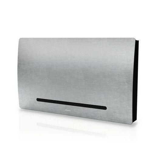 Galletti Art-U 40 szürke színű parapet / konzol fan coil nyitható ráccsal szabályzóhoz