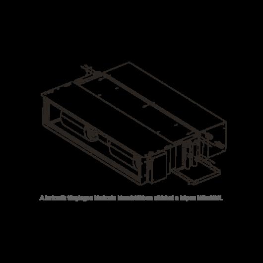 Galletti MDF2V kiegészítő hőcserélő PWN 23-24-26-hoz