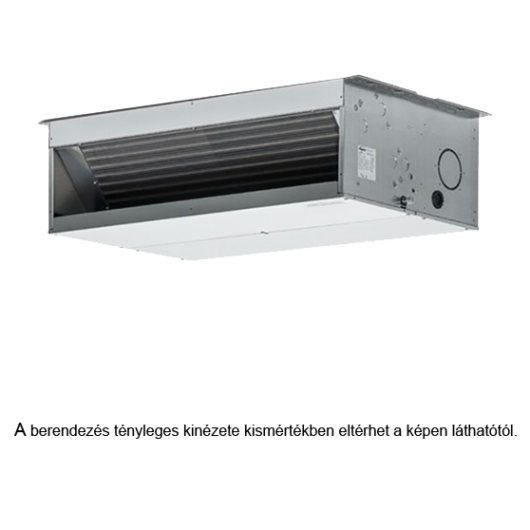 Galletti UTN 22 DF magasnyomású légcsatornázható 4 csöves fan coil