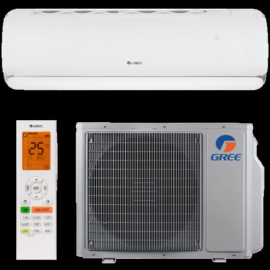 Gree G-Tech GWH09AEC-K6DNA1A oldalfali mono split klíma 2.7 kW