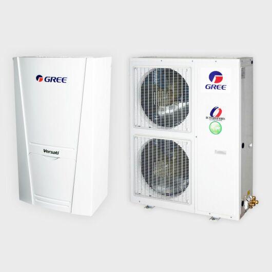 Gree Versati III+ GRS-CQ10Pd/NhH-E 1 fázisú osztott levegő-víz hőszivattyú 10 kW