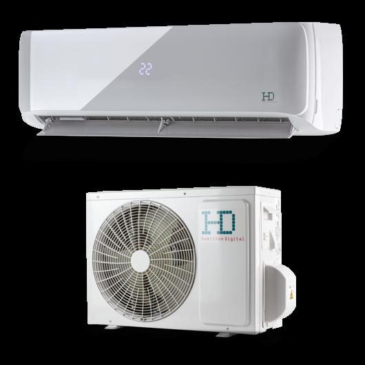 HD Maximus HDWI-MAXIMUS-126D / HDOI-MAXIMUS-126D oldalfali mono split klíma 3.4 kW
