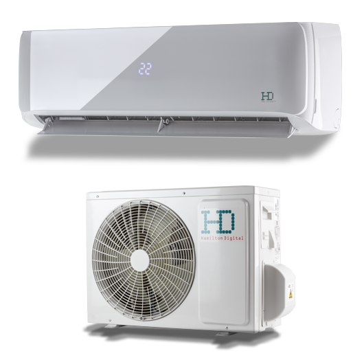 HD Maximus HDWI-MAXIMUS-96D / HDOI-MAXIMUS-96D oldalfali mono split klíma 2.6 kW