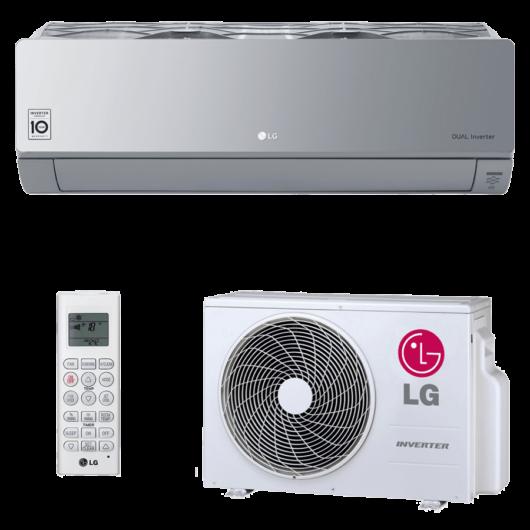 LG ArtCool Silver AC12SQ.SP oldalfali mono split klíma 3.5 kW
