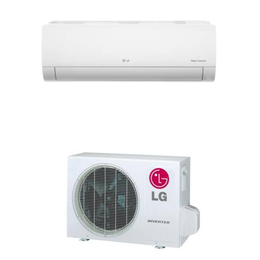 LG Silence Plus PC09SQ.NSJ / PC09SQ.UA3 oldalfali mono split klíma 2.5 kW