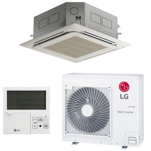 LG UT30F/UUC1 Standard kazettás mono split klíma 8.8 kW