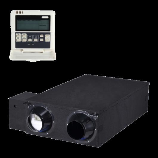 Midea HRV-D800(B) + KJR-27B/E központi hővisszanyerős szellőztető