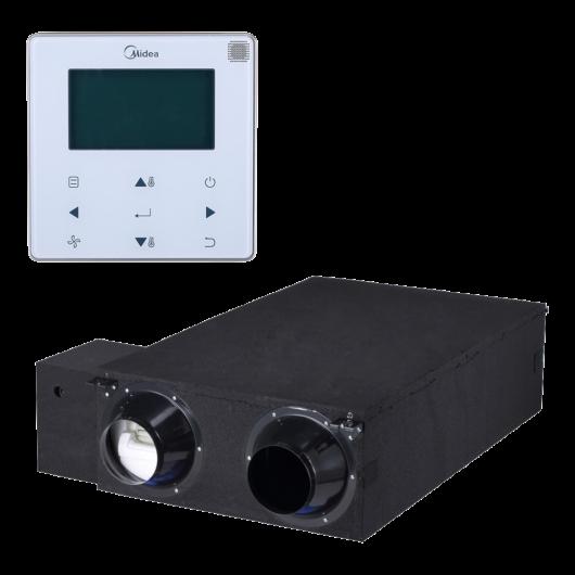 Midea HRV-D1500(B) + WDC-120G/WK központi hővisszanyerős szellőztető