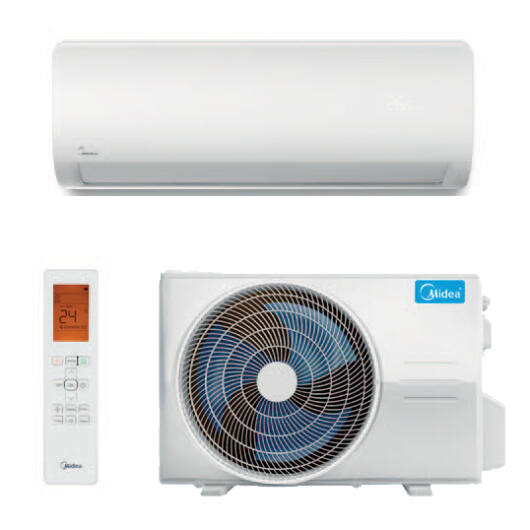 Midea Xtreme Save Pro MGP2X-09-SP oldalfali mono split klíma 2.6 kW
