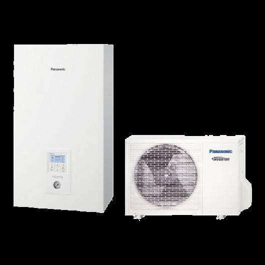 Panasonic Aquarea High Performance (WH-UD12HE8 / WH-SDC12H9E8) 3 fázisú osztott levegő-víz hőszivattyú 12 kW