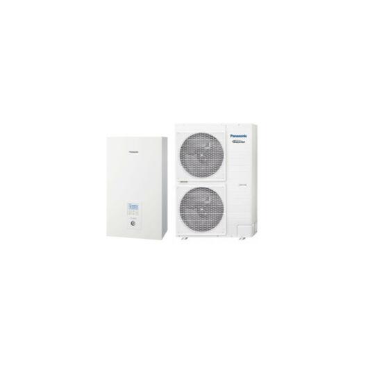 Panasonic Aquarea T-CAP (WH-UX12HE8 / WH-SXC12H9E8) 3 fázisú osztott levegő-víz hőszivattyú 12 kW