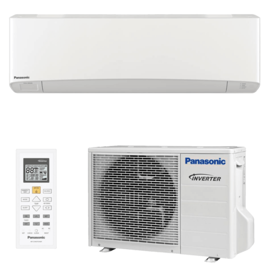 Panasonic Etherea KIT-Z20-XKE / CS-Z20XKEW / CU-Z20XKE oldalfali mono split klíma 2 kW
