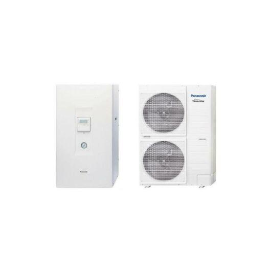 Panasonic Aquarea High Temperature (WH-UH12FE8 / WH-SHF12F9E8) 3 fázisú osztott levegő-víz hőszivattyú 12 kW
