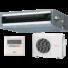 Kép 1/3 - Fujitsu ARYG12LLTB / AOYG12LALL légcsatornás mono split klíma 3.5 kW